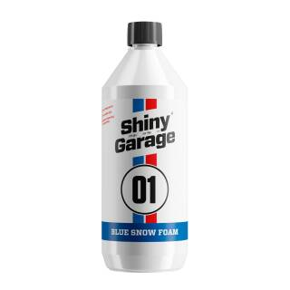 Shiny Garage Blue Snow Foam 1L, Reinigungsschaum Blau