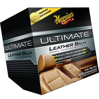 Meguiars Ultimate Leather Balm 160g, Premium Lederpflege inkl. Applikator